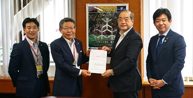 2020年7月17日(金) 東村山市長 表敬訪問