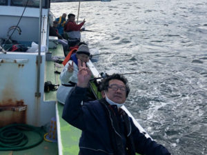 釣り同好会「アジ釣り」